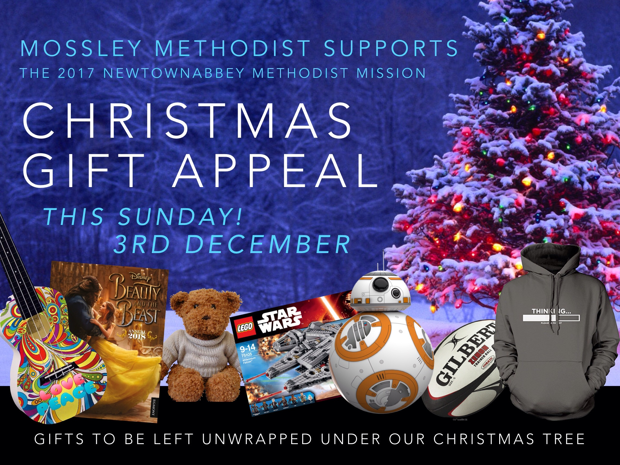2017 christmas gift appeal this coming sunday